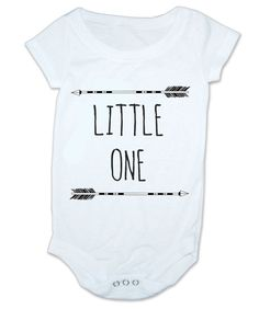 Baby Onesie - Arrows Little One - Bodysuit Baby Shower Gift Funny Geek Nerd Cute