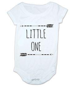 Baby Onesie - Arrows Little One - Bodysuit Baby Shower Gift Funny Geek Nerd Cute