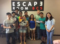 This group was able to escape Dr. Andrew's lab in exactly 60 minutes!