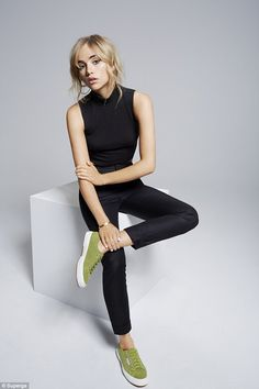 In good company: Suki follows in the footsteps of Brit girls Alexa Chung and Rita Ora, who have also posed for the Italian brand