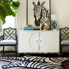 Jonathan Adler furniture top accessorizing