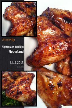 @kookmetmij gegrilde kippenvleugels in @chansbv sauzen en marinade ...smakelijke groet, Tammy Wong