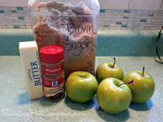 Fried Apples Recipe - Raining Hot Coupons
