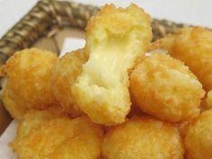 Bolinha de queijo superprática