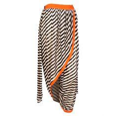 Jean Paul Gaultier Striped Harem Pants   1stdibs.com