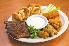 Sampler Combination at Bob's Big Bear Diner. Dinner With Friends, Big Bear, Healthy Salads, Hawaii, Restaurants, Dining, Eat, Food, Eten