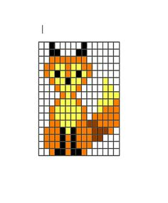 fox pattern, so cute