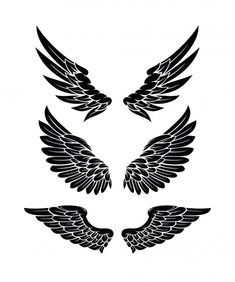 Wing Neck Tattoo, Neck Tattoo For Guys, Chest Tattoo, Tattoos For Guys, Alas Tattoo, Tattoo Set, Eagle Wing Tattoos, Tattoo Eagle, Hand Tattoos