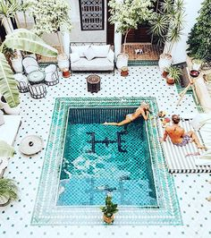 Riad Yasmine, Marrakech, Morocco  Tag who you want to share this experience with! #marrakech #riad #morocco  Via @doyoutravel