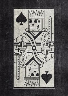 Idea... I like the idea of king of hearts with everything black and white but the hearts
