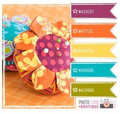 tangerine color palette - should have used these colors in my craft room. Website Color Schemes, Colour Schemes, Color Combos, Color Patterns, Design Seeds, Cool Color Palette, Tangerine Color, Scrapbooking, Creative Colour