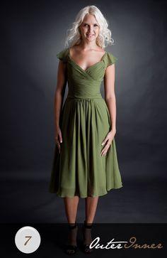 A-line Knee-Length Sweetheart Bridesmaid Dress Style Code: 02584