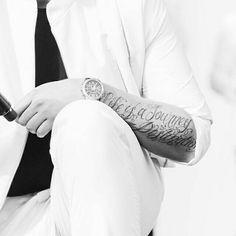 John Newman tattoo