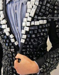 Recycling fashion: keyboard