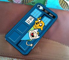 It's Adventure Time. It's also Doctor Who. I WANT THIS!!!!