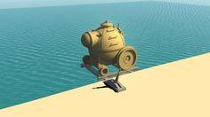 Underwater Train from Myst: Riven by windspiek on deviantART