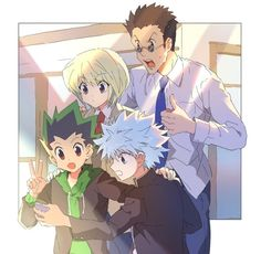 Killua, Hisoka, Hunter X Hunter, Hunter Anime, Manhwa, Blue Springs Ride, Hxh Characters, Handsome Anime Guys, Cute Anime Pics