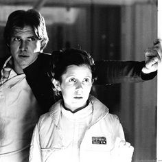 Carrie Fisher, Fear Leads To Anger, Kenny Baker, Billy Dee Williams, Han And Leia, Lando Calrissian, Tv Shows Funny, Original Trilogy, Star Wars Ships