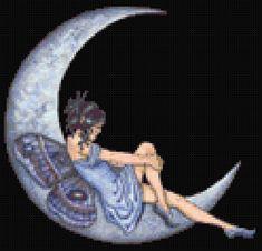 Tag: fairy - MyPhotoStitch.com Free Cross Stitch Pattern Blog