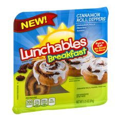 I'm learning all about Lunchables Breakfast Cinnamon Roll Dippers at @Influenster!