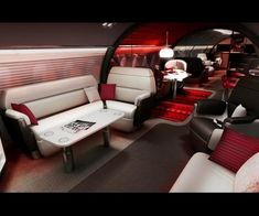 luxury jet!  This is how to travel