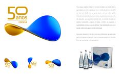 Marca Copasa 50 anos: criação de logotipo para comemoração dos 50 anos da Copasa em 2013.