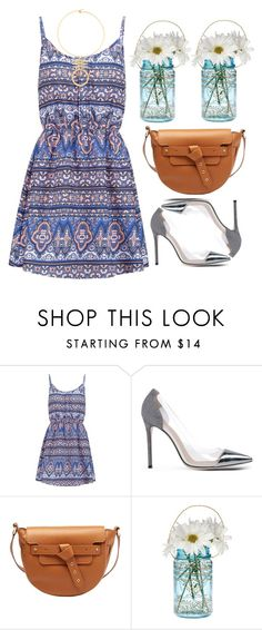 """""""Untitled #4881"""" by prettyorchid22 ❤ liked on Polyvore featuring New Look, Gianvito Rossi, Meli Melo, Cultural Intrigue, Tory Burch, women's clothing, women, female, woman and misses"""