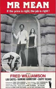 Mr. Mean (1977) starring Fred Williamson