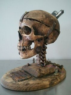 Sanatorium Altrosa - actegratuit: steampunk skull by Demskicreations...