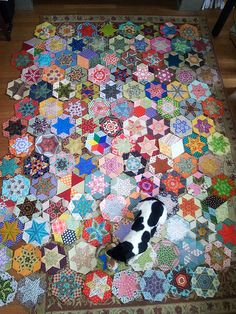 English paper piecing project progress | Flickr - Photo Sharing!
