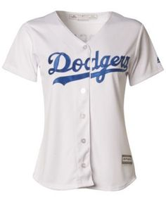 Majestic Women's Clayton Kershaw Los Angeles Dodgers Cool Base Jersey - White XL