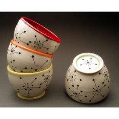 painted pottery designs - Google Search
