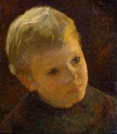 Willem Bastiaan Tholen. Kinderportret.