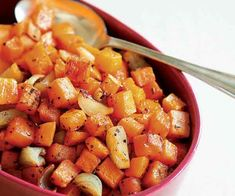 Roasted Rosemary Butternut Squash & Shallots Recipe