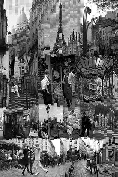 Paris  impression sur alu  Dimension :  120  x  80  cm