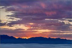 Crepuscular Rays, San Andreas Mountain