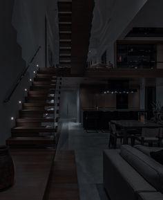 Dream House Interior, Dream Home Design, Modern House Design, Dark House, Modern Mansion, Dark Interiors, House Goals, Dream Rooms, Luxury Life