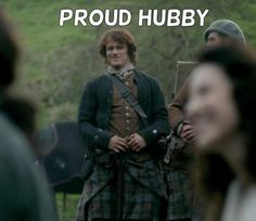 Jamie: Proud hubby of Lady Lallybroch. | Outlander S1E8 'Both Sides Now' on Starz