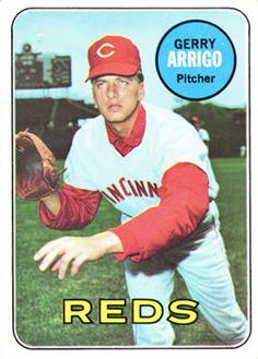 1969 Topps #213 Gerry Arrigo Front