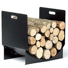 Accessoire  de cheminée :  Réserve à bois  PB 28   Reignoux créations Range Buche, Fire Pit Grill, Log Store, Metal Fire Pit, Log Holder, Firewood Storage, Wood Basket, Workshop Storage, Studio Living