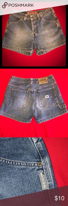 Silver brand Shorts Only found 2 flaws, please see last 2 pictures. Silver Jeans Shorts Jean Shorts
