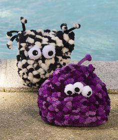 Knit Alien Pillows are so easy to make.. Beginner friendly.