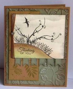 VLVMar2013 leaves by tessaduck - Cards and Paper Crafts at Splitcoaststampers