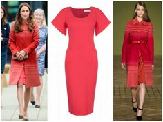 Duchess of Cambridge in Goat Dress & Jonathan Saunders Coat | MYROYALS &HOLLYWOOD FASHİON