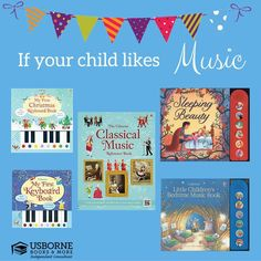 Usborne has wonderful MUSIC books for the MUSIC lovers out there!!   https://g6796.myubam.com/search?q=music