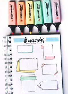 37 Easy Bullet Journal Ideas To Well Organize 038 Accelerate Your Ambitious Goal. - Vanlife - 37 Easy Bullet Journal Ideas To Well Organize 038 Accelerate Your Ambitious Goals Accelerate Ambiti - Bullet Journal Writing, Bullet Journal Headers, Bullet Journal Banner, Bullet Journal Aesthetic, Bullet Journal Notebook, Bullet Journal 2019, Bullet Journal Ideas Pages, Bullet Journal Inspiration, Bullet Journals