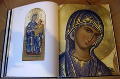 """The book about the Modern Orthodox Icons """"Divine Images"""": http://www.versta-k.ru/en/catalog/8/36/  The delivery to any point of the world"""