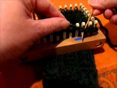 ▶ Super Stretchy Bind Off in the Round Loom Knit - YouTube