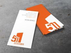 Design511 Logo + Business Card by Kevin Grimes