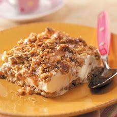 Caramel Pecan Ice Cream Dessert Recipe